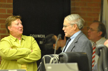 Sandi Smith (Ward 1) and AATA legal counsel Jerry Lax. Other senior staff of the AATA attended the meeting in case there were questions from councilmembers, but there were none.