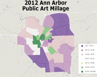 2012 Ann Arbor Public Art millage