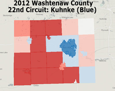 Kuhnke Results in Washtenaw County