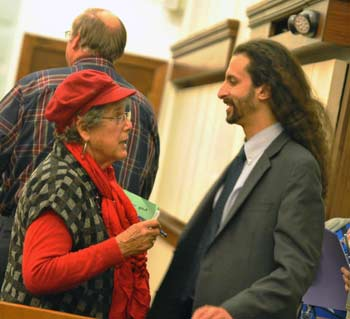 Barbara Bergman, Yousef Rabhi, Washtenaw County board of commissioners, The Ann Arbor Chronicle