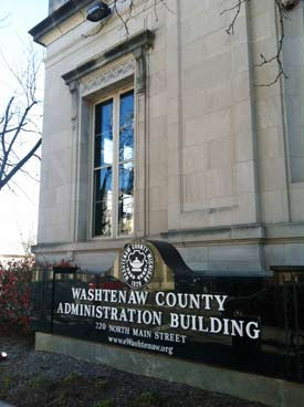 Washtenaw County administration building