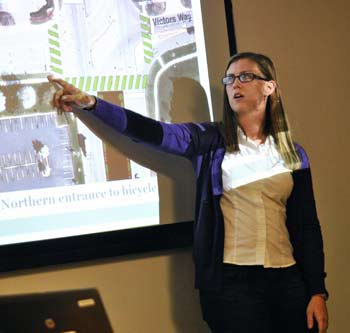 Danielle Thoe, Ann Arbor planning commission, The Ann Arbor Chronicle, South State Street corridor, University of Michigan Taubman College of Architecture & Urban Planning