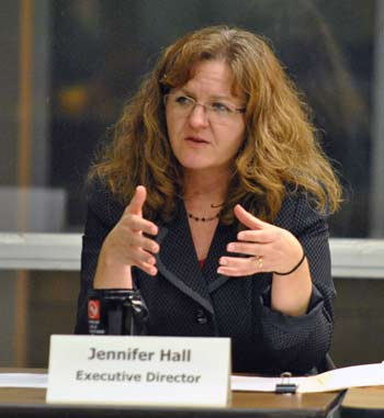 Jennifer Hall, Ann Arbor housing commission, The Ann Arbor Chronicle