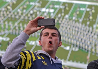 Ben Cabrera, University of Michigan football, Michigan Stadium, The Ann Arbor Chronicle