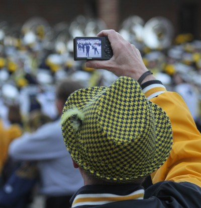 Michigan Marching Band, University of Michigan football, Michigan Stadium, Revelli Hall, The Ann Arbor Chronicle