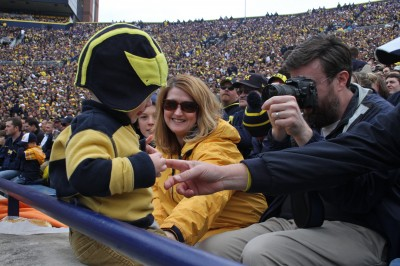 Jason Yoder, Cass Yoder, LisaAnn Rocha, University of Michigan football, The Ann Arbor Chronicle