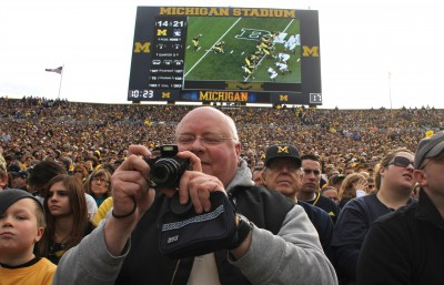 Mike Swope, University of Michigan football, Michigan Stadium, The Ann Arbor Chronicle