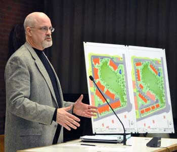 Architect Brad Moore, Blue Heron Pond Townhomes, Ann Arbor planning commission, The Ann Arbor Chronicle