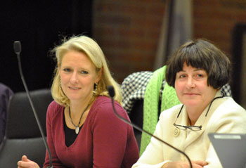 Sally Petersen (Ward 2) and Jane Lumm (Ward 2)