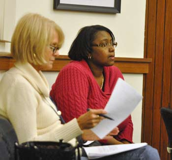 right-to-work, Nancy Heine, Caryette Fenner, labor unions, AFSCME Local 2733, Washtenaw County board of commissioners, The Ann Arbor Chronicle