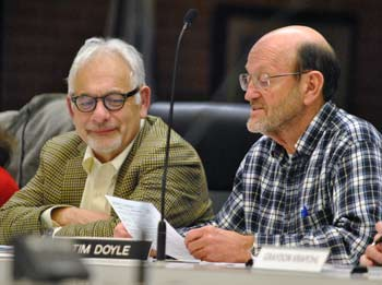 Bob Galardi, Tim Doyle, Ann Arbor park advisory commission, The Ann Arbor Chronicle