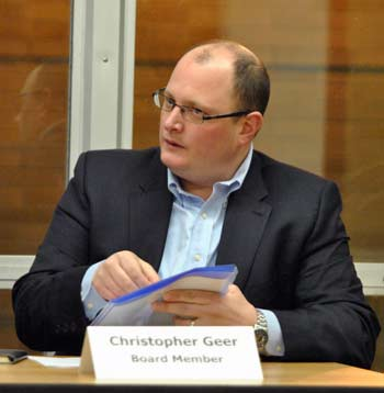 Christopher Geer, Ann Arbor housing commission, PricewaterhouseCooper, The Ann Arbor Chronicle