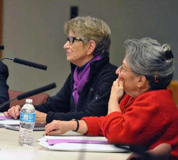 Prue Rosenthal, Barbara Murphy, Ann Arbor District Library board, The Ann Arbor Chronicle
