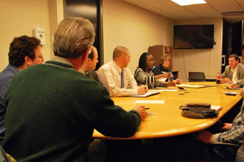 Jan. 24, 2013 meeting of the city of Ann Arbor taxicab board.