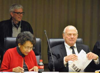 Gene Hopkins, Eleanore Adenekan, Tony Derezinski, Ann Arbor planing commission, The Ann Arbor Chronicle