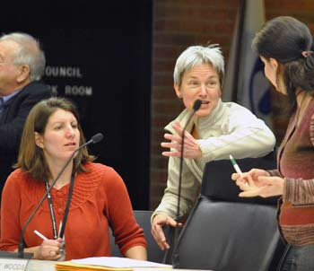 Alexis DiLeo, Bonnie Bona, Diane Giannola, Ann Arbor planning commission, The Ann Arbor Chronicle