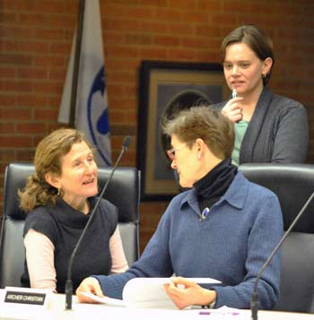 Ann Arbor greenbelt advisory commission, Laura Rubin, Archer Christian, Ginny Trocchio, The Ann Arbor Chronicle