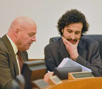 Curtis Hedger, Yousef Rabhi, Washtenaw County board of commissioners, The Ann Arbor Chronicle