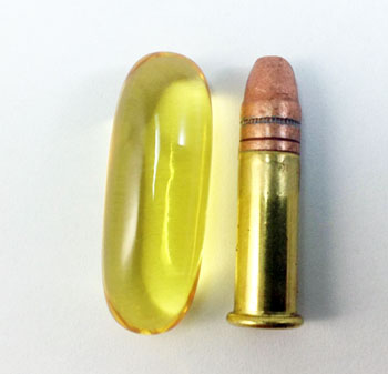 Cartridge and fish oil supplement