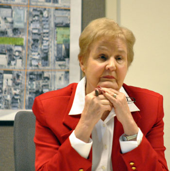 Leah Gunn, chair of the Ann Arbor Downtown Development Authority board.