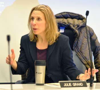 Julie Grand, Ann Arbor park advisory commission, The Ann Arbor Chronicle