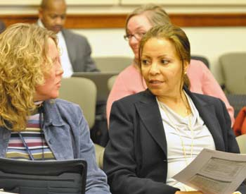 Tina Gavalier, Verna McDaniel,  Washtenaw County board of commissioners, The Ann Arbor Chronicle