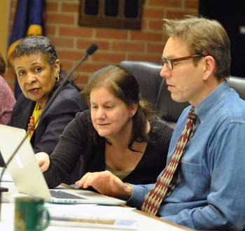 Wendy Woods, Diane Giannola, Ken Clein, Ann Arbor planning commission, The Ann Arbor Chronicle