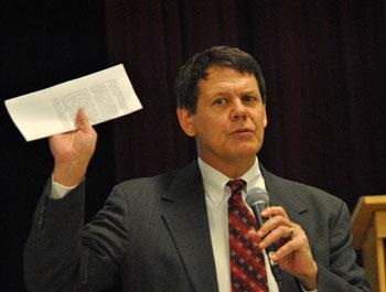 Evan Pratt, Washtenaw County water resources commissioner