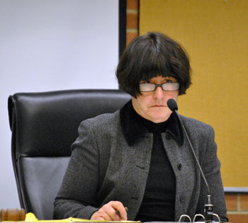 Jane Lumm at the March 6, 2013 hearing on the non-renewal recommendation of The Arenas liquor license.