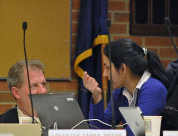 Stephen Kunselman (Ward 3) and Sumi Kailasapathy (Ward 1), who cosponsored the amendments to the DDA ordinance.