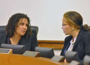Felicia Brabec, Verna McDaniel, Washtenaw County board of commissioners, The Ann Arbor Chronicle