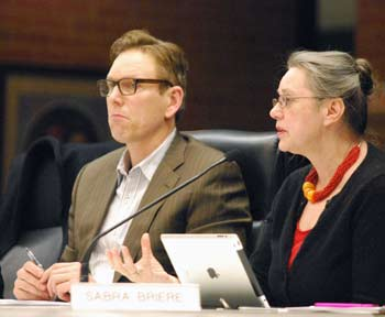 Ken Clein, Sabra Briere, Ann Arbor planning commission, The Ann Arbor Chronicle
