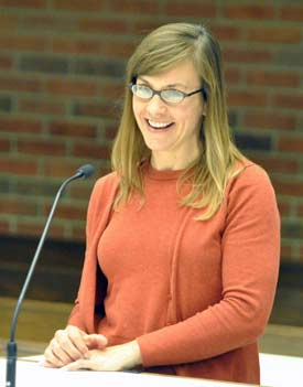 Jennifer Fike, Huron River Watershed Council, Ann Arbor greenbelt advisory commission, The Ann Arbor Chronicle