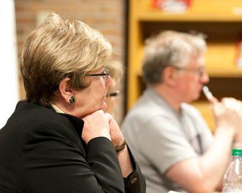 Ann Arbor Public School superintendent Patricia Green