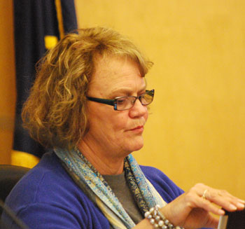 Ypsilanti Township clerk Karen Lovejoy Roe