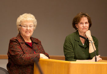 Washtenaw Intermediate School District candidates from left: Diane Hockett, Mary Jane Tramontin