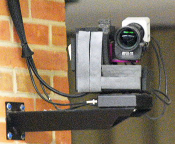 The proposed video privacy ordinance would not apply to CTN cameras like this one mounted in the Ann Arbor city council council chambers