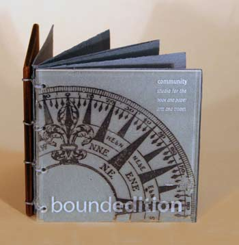 boundedition, bookmaking, Laura Earle, Jim Horton, the Ann Arbor Chronicle