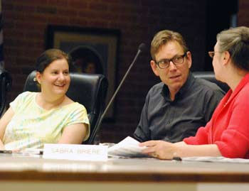 Diane Giannola, Ken Clein, Sabra Briere, Ann Arbor planning commission, The Ann Arbor Chronicle