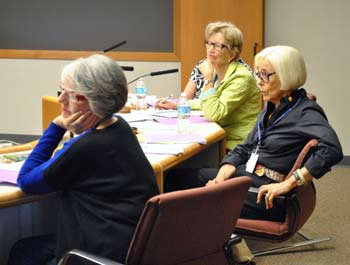 Nancy Kaplan, Jan Barney Newman, Prue Rosenthal, Ann Arbor District Library, The Ann Arbor Chronicle