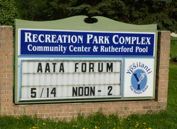Recreation Park, Ypsilanti, Rutherford Pool, Washtenaw County parks & recreation commission, The Ann Arbor Chronicle