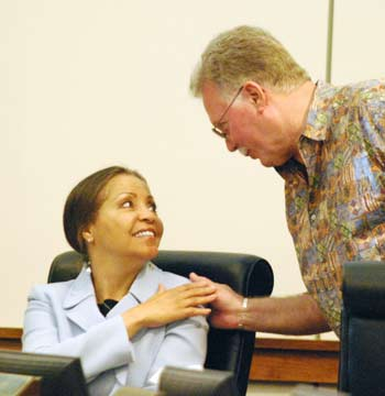 Verna McDaniel, Rolland Sizemore Jr., Washtenaw County board of commissioners, The Ann Arbor Chronicle