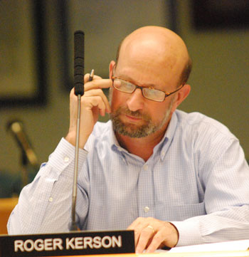 Ann Arbor Transportation Authority board member Roger Kerson