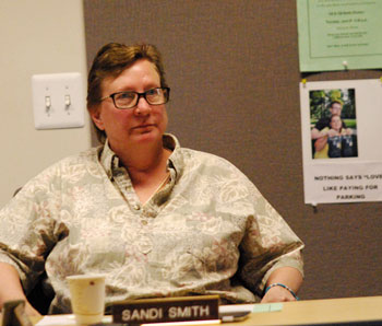 DDA board member Sandi Smith (Photos by the writer)