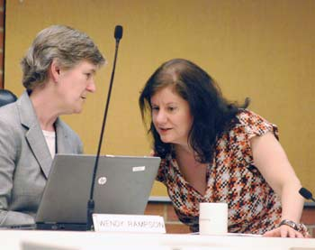 Wendy Rampson, Diane Giannola, Ann Arbor planning commission, The Ann Arbor Chronicle
