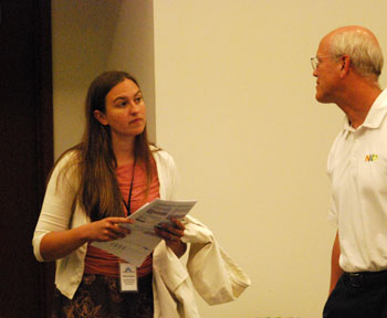 Gillian Ream and Ypsilanti mayor Paul Schreiber