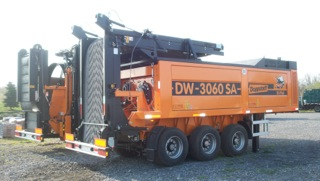 Doppstadt Slow speed Grinder/Shredder used by WeCare Organics