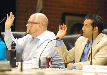 Jeremy Peters, Paras Parekh, Ann Arbor planning commission, The Ann Arbor Chronicle