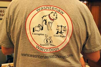 Washtenaw Watchdogs, Washtenaw County board of commissioners, The Ann Arbor Chronicle
