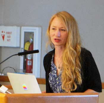 Heather Seyfarth, Clean Energy Coalition, Ann Arbor District Library, The Ann Arbor Chronicle